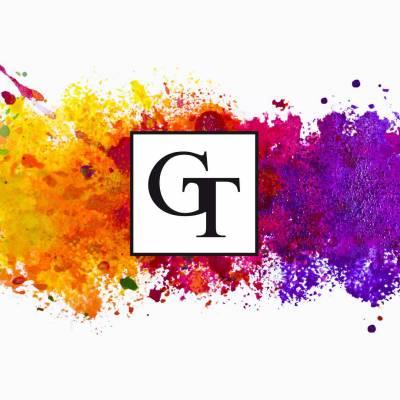 GRADA-TEXTIL GmbH Logo auf Farbhintergrund